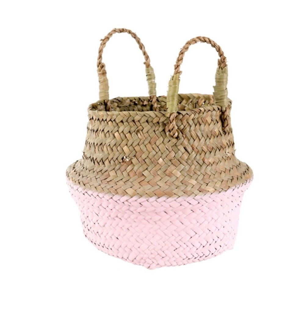 Baby Belly Basket Pink 1-6625
