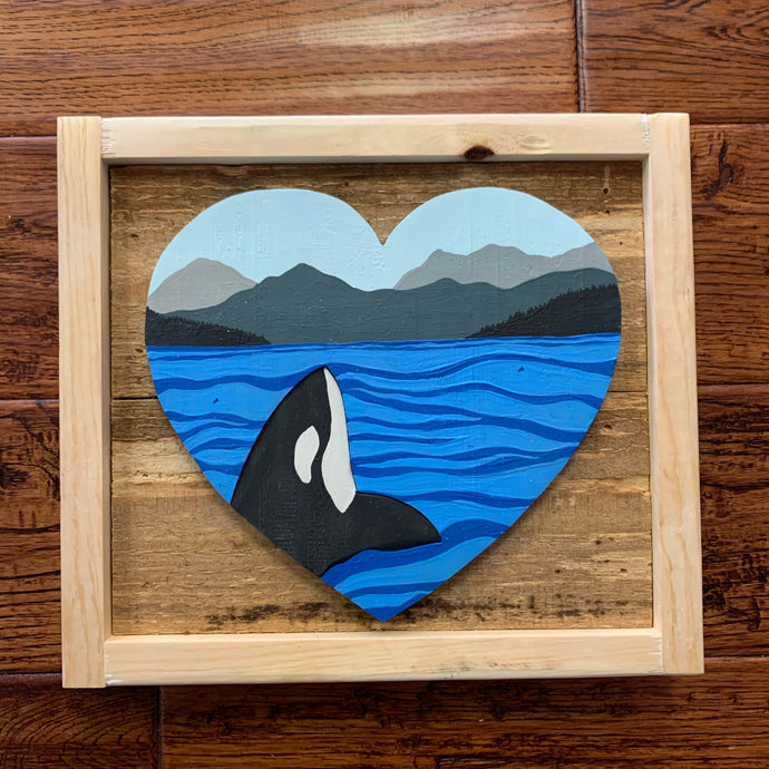 Westcoastkitsch Orca Love #46