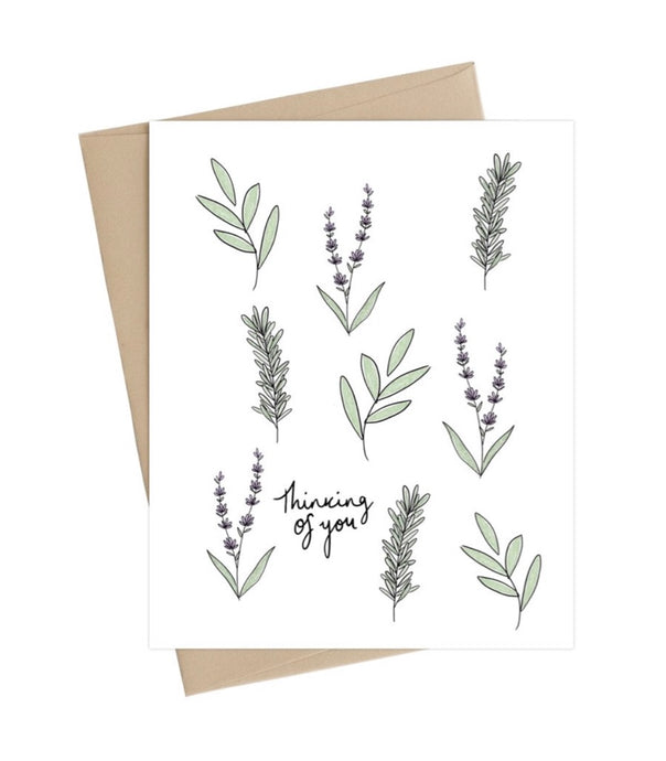 Thinking Of You -  Little May Papery Greeting Cards LMP-01-7