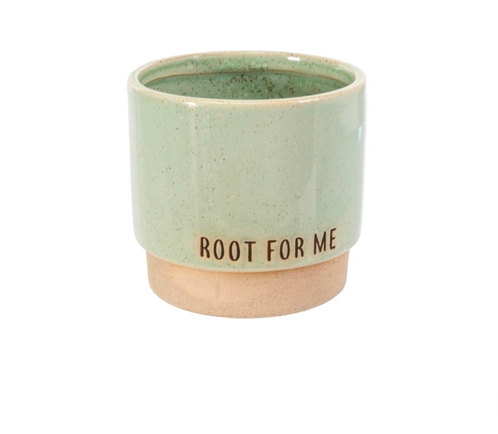 Root For Me Planter Pot 3-9379