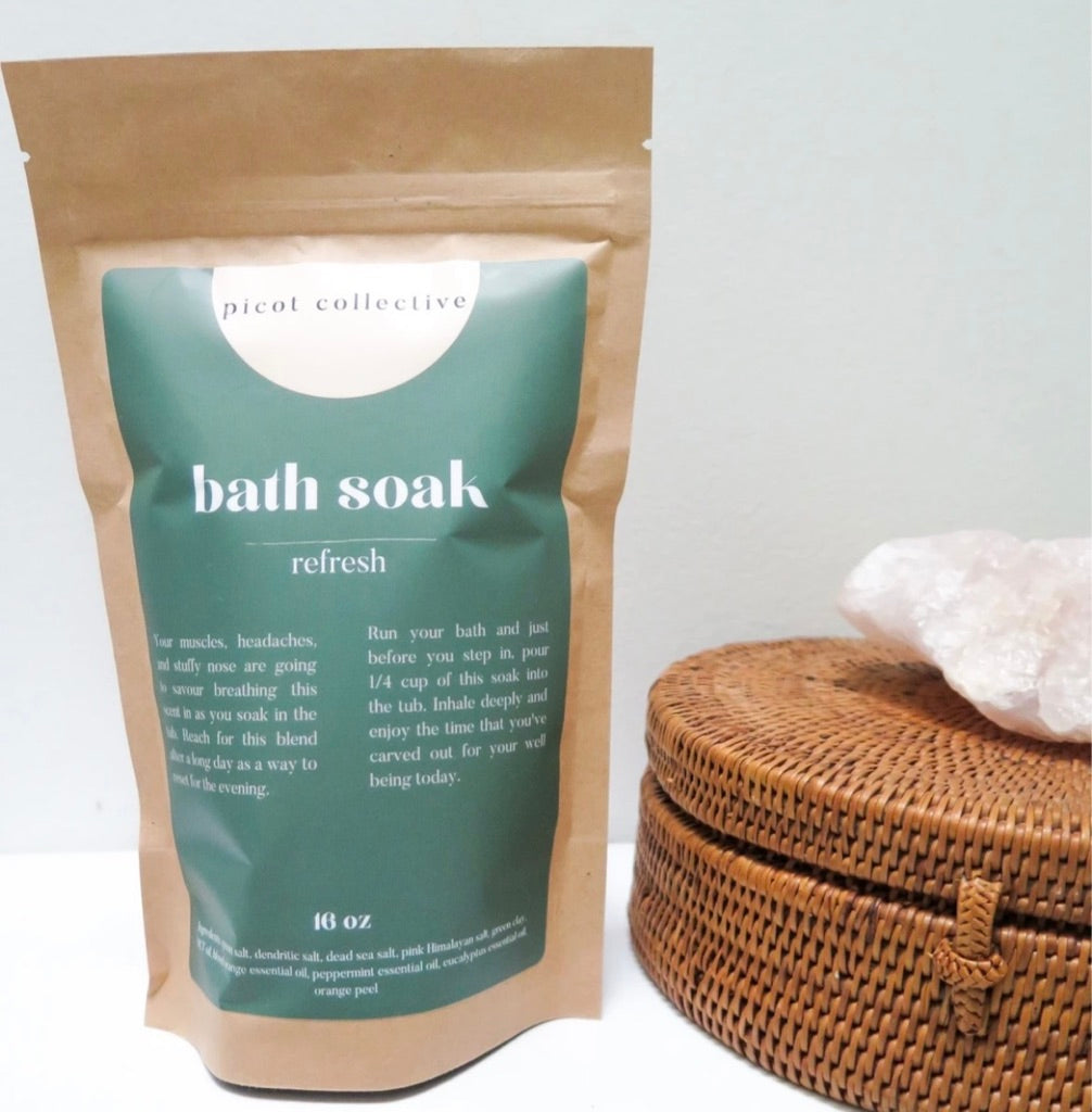 Picot Refresh Bath Salt  P-6