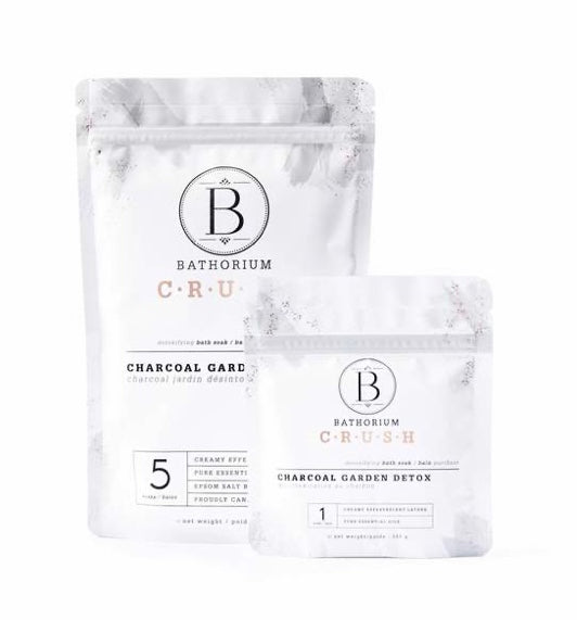 Bathorium Crush Charcoal Garden Detox Soak