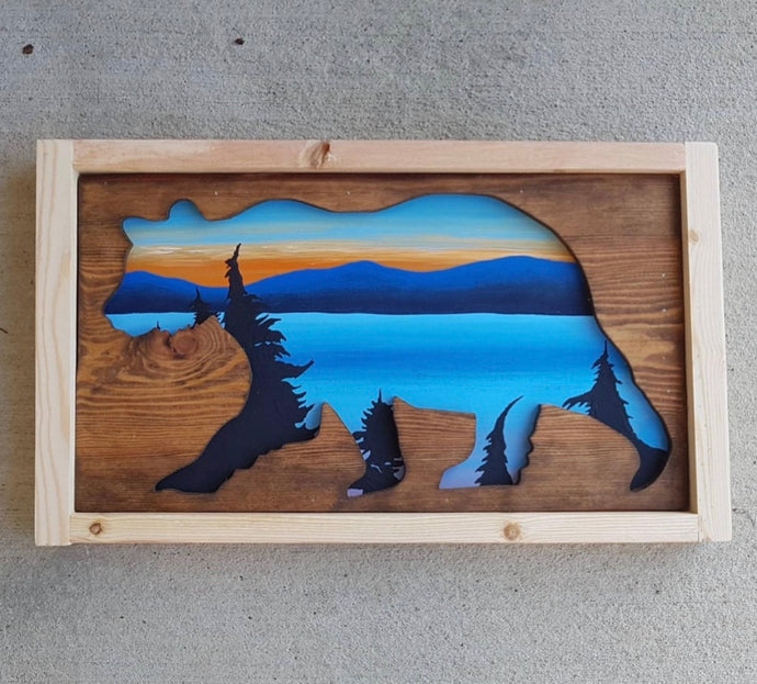 Westcoastkitsch Tofino Sunset Bear #15