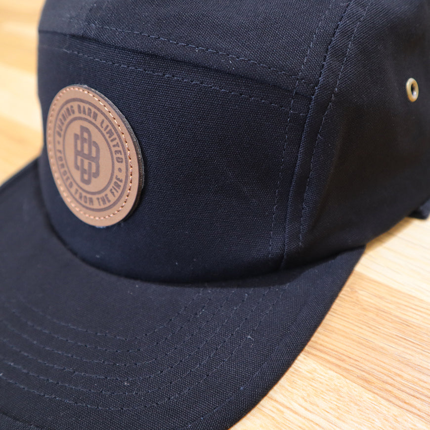 The 5 Panel Cap - Black