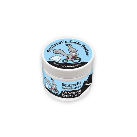 Squirrel's Saddle Butter Tub