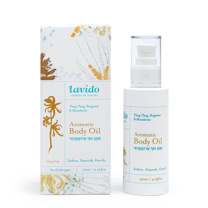 Aromatic Body Oil, 120ml-Best By:August 2020