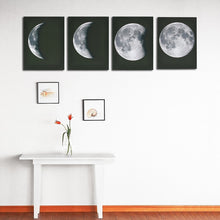 Load image into Gallery viewer, Moon Phase Wall Art