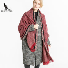 Load image into Gallery viewer, Women's Long Square Wrap Scarf