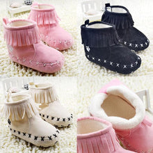 Load image into Gallery viewer, Baby Girl Winter Boots Children Snow Boots Booties Newborn To 18 Months