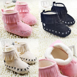 Baby Girl Winter Boots Children Snow Boots Booties Newborn To 18 Months
