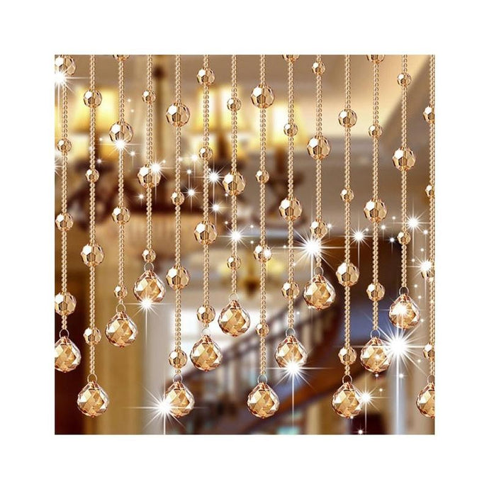 String of Bead Curtain 1 Meters Crystal Curtains for Doorway Decoration