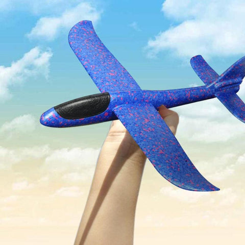 Hand Throw Air plane Flying Glider