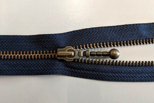 YKK No.5 Zips – RGKBO56 DADRB Open Ended