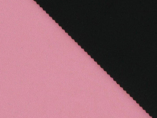 Double-Faced Bonded Neoprene, Pink and Black