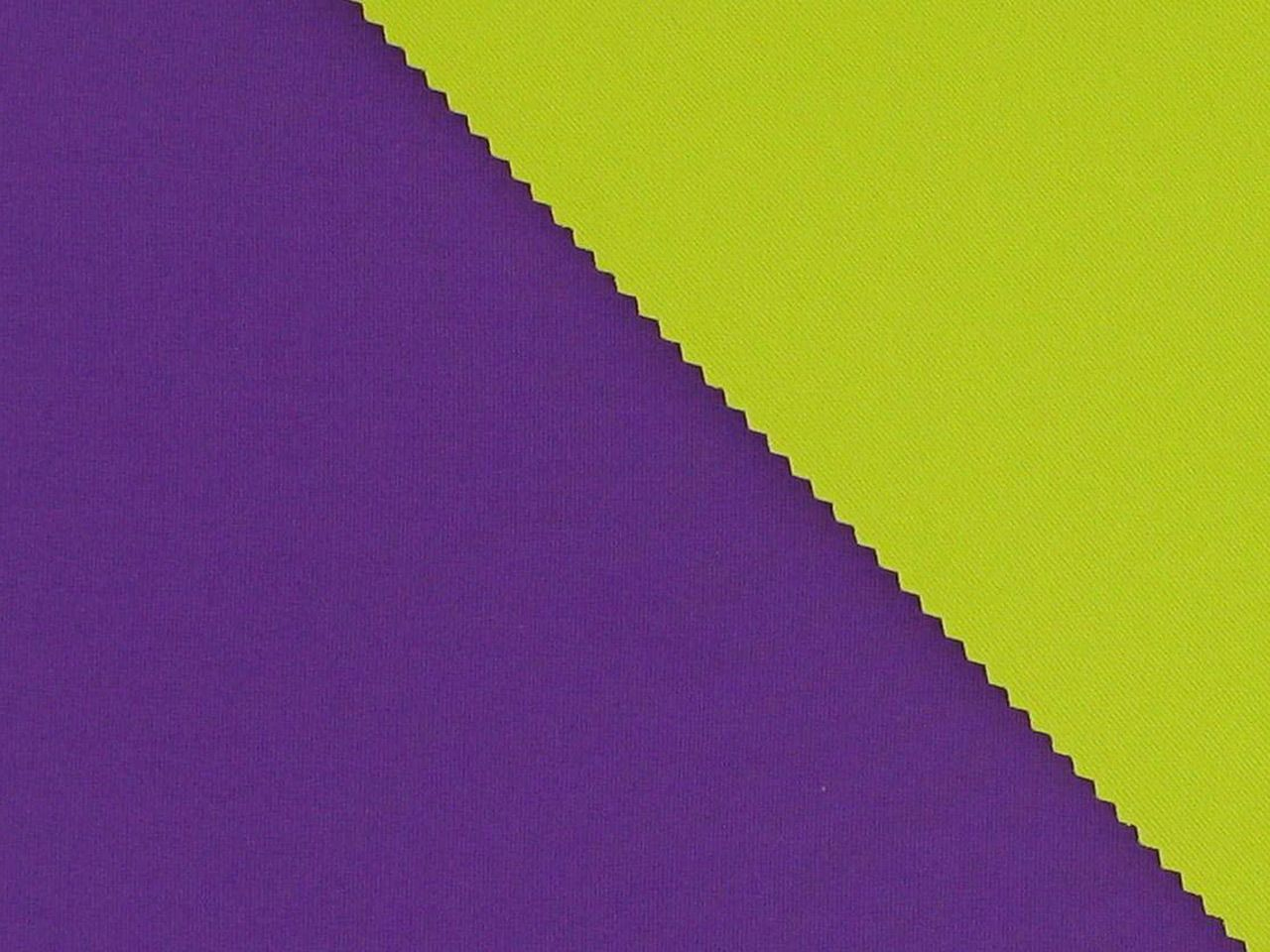 Double-Faced Bonded Neoprene, Purple and Yellow