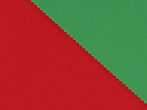 Double-Faced Bonded Neoprene, Red and Green