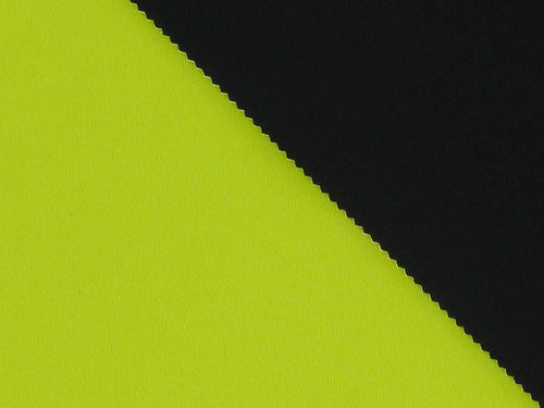 Double-Faced Bonded Neoprene, Yellow and Black