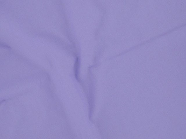 Plain Polycotton Fabric - Lilac