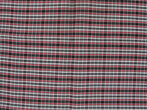 Taffeta Kilt Stripe - Red and White
