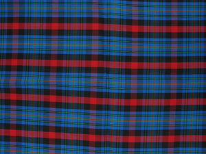 Taffeta Kilt Stripe - Blue and Red