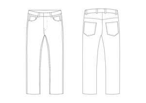 JEANS - PATTERNS (MENS)
