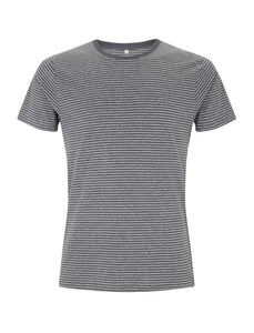 Unisex Jersey T Shirt - Grey striped (Pack of 10)
