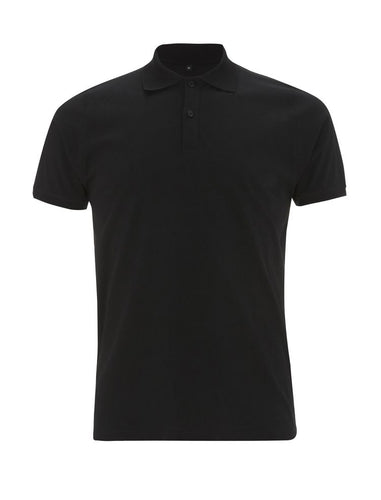 Mens Polo Shirt - Black (Pack of 10)