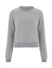 Load image into Gallery viewer, Womens Cropped Sweater - Light Grey (Pack of 10)