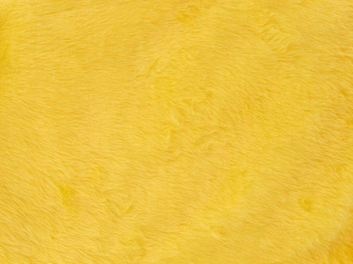 Short Pile Fur Fabric - Flavine