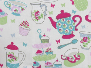 Afternoon Tea Cotton Print, Candy