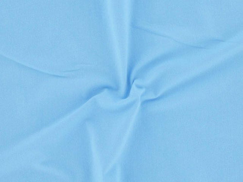 Cotton Jersey with Elastane - Baby Blue