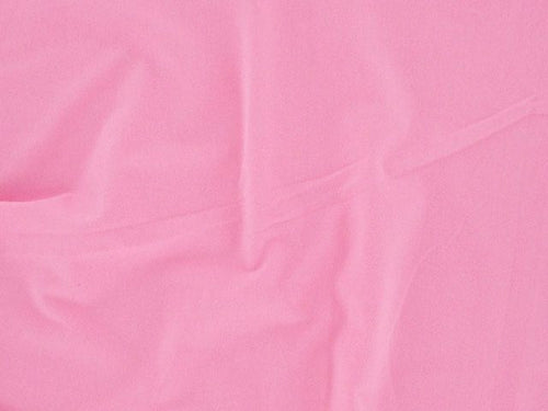 Cotton Jersey with Elastane - Pink