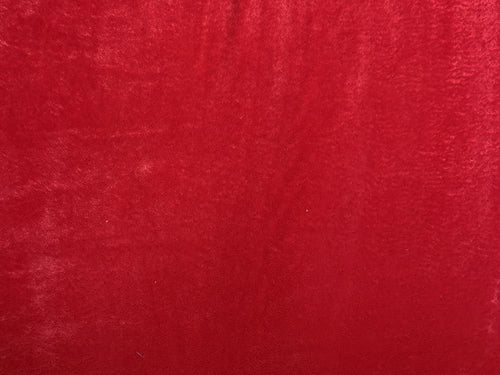 Ultra Soft Plain Cuddle Fleece, Red