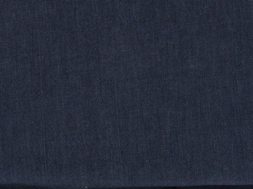 Plain Washed 4oz Denim, Dark Blue