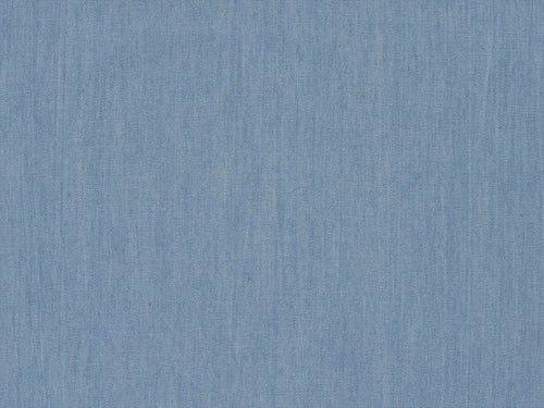Plain Washed 4oz Denim, Light Blue