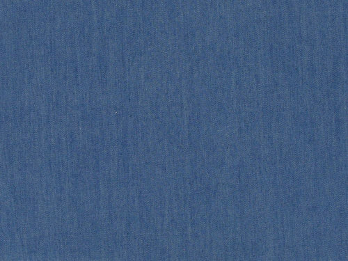 Plain Washed 4oz Denim, Medium Blue