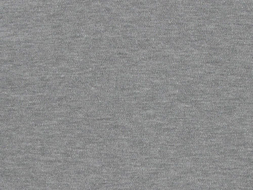 Cotton Jersey with Elastane - Grey Marl