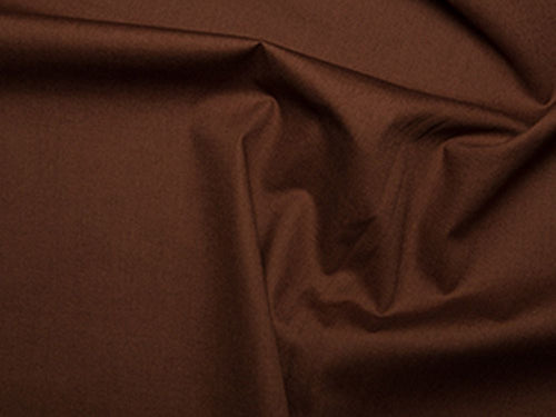 Premium Cotton Poplin, Brown