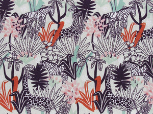 Safari Adventure Cotton Print, Grape