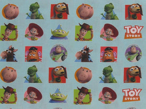 Toy Story Patches Digital Cotton Print