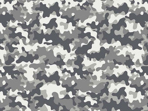 Craft Collection Cotton Print, Camoflauge Ice