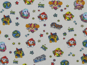 Paw Patrol Printed Cotton, Pups on the Go