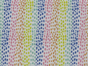Rainbow Spot Digital Cotton Print