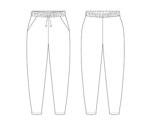 TRACK PANTS - PATTERN (MENS)