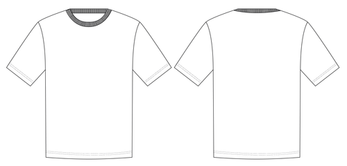 T SHIRT - PATTERN (MENS)
