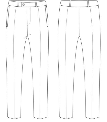 TROUSERS - PATTERN (MENS)