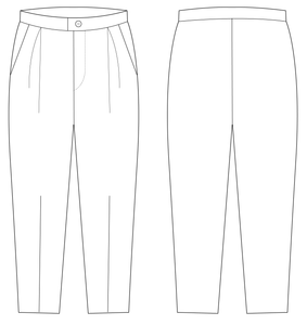 TROUSERS - (PATTERN) (MENS)