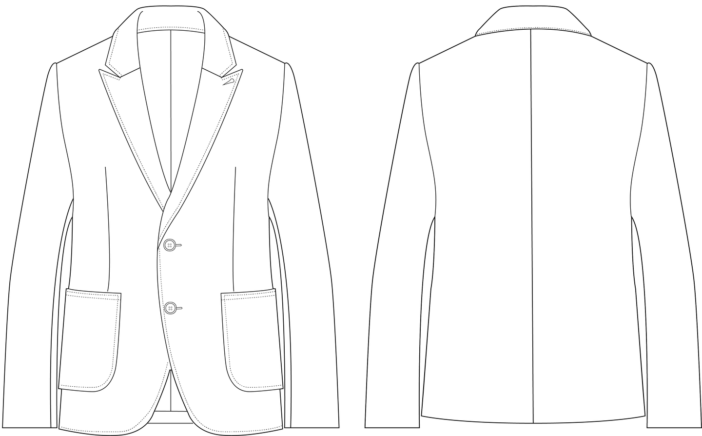 BLAZER - PATTERN (MENS)