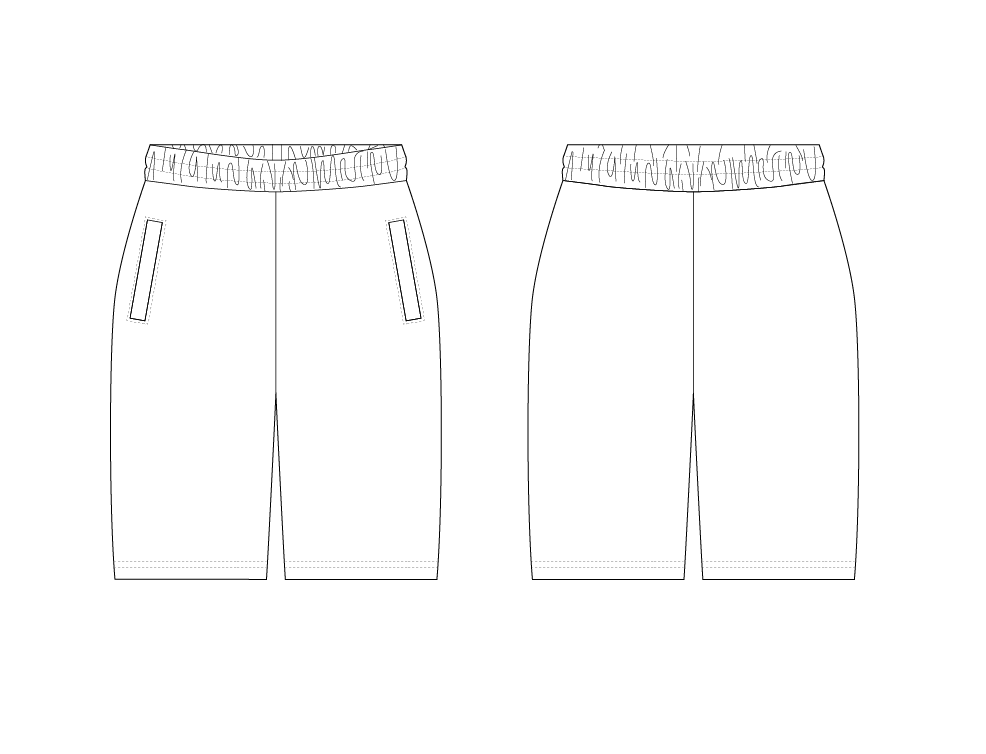 SHORTS - PATTERN (MENS)