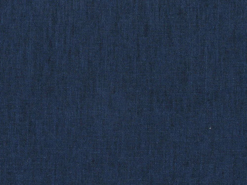 Ballybay Denim Look Irish Linen, Dark Blue